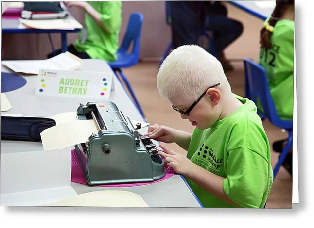 Braille Competition Greeting Card