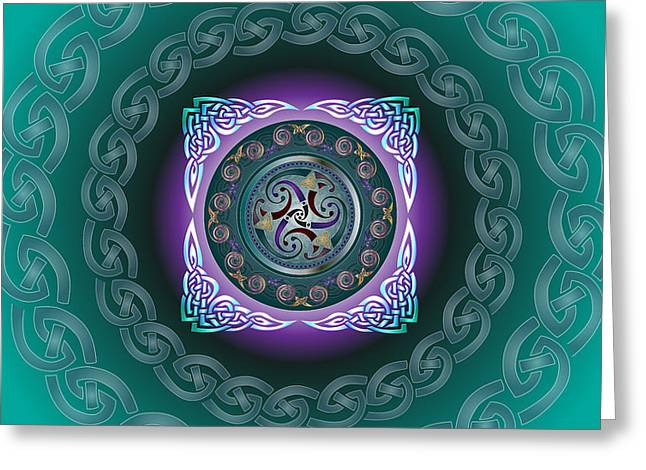 Celtic Pattern Greeting Card