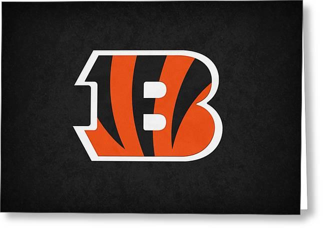 Cincinnati Bengals Greeting Card by Joe Hamilton