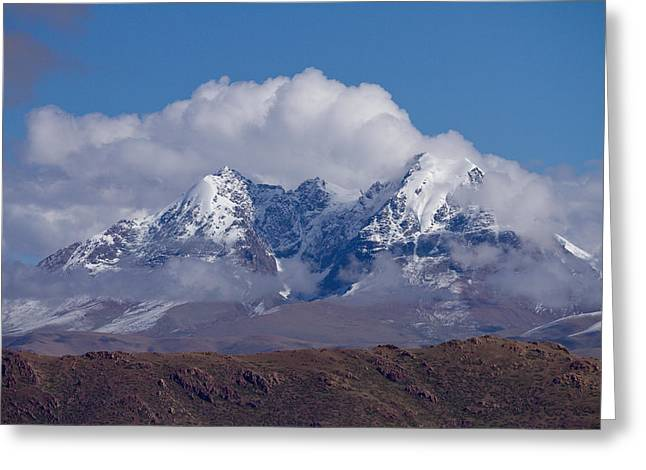 Himalaya Range  Greeting Card