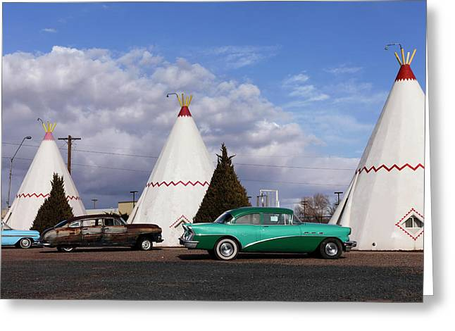 Holbrook, Arizona, United States Greeting Card by Julien Mcroberts