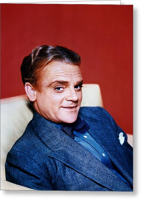 James Cagney Greeting Card