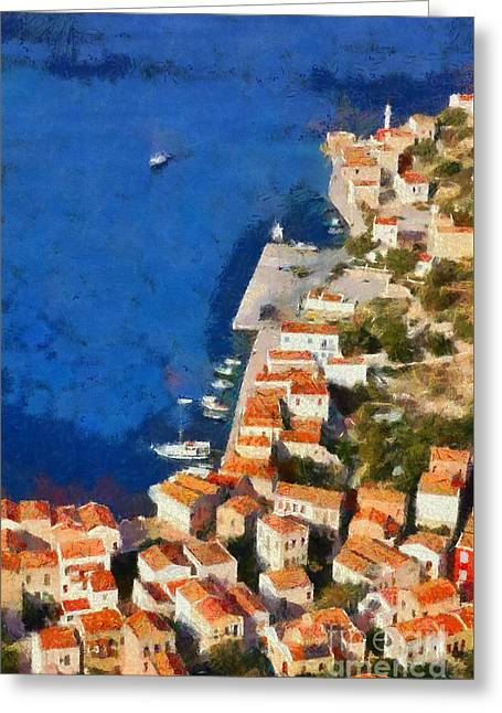Kastellorizo Island Greeting Card