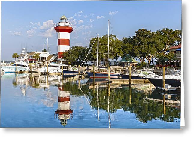 Lighthouse On Hilton Head Island Greeting Card