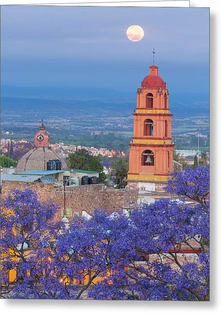 Mexico, San Miguel De Allende Greeting Card by Jaynes Gallery