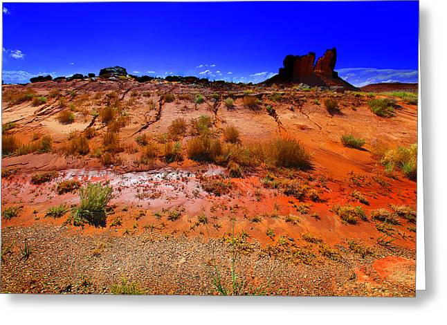 Monument Valley Utah Usa Greeting Card