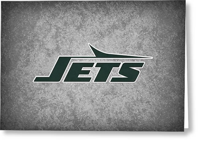 New York Jets Greeting Card