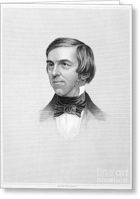 Oliver Wendell Holmes Greeting Card by Granger