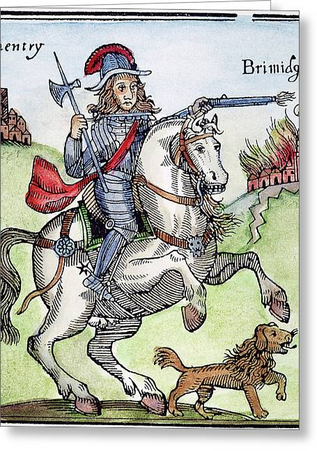 Prince Rupert (1619-1682) Greeting Card by Granger