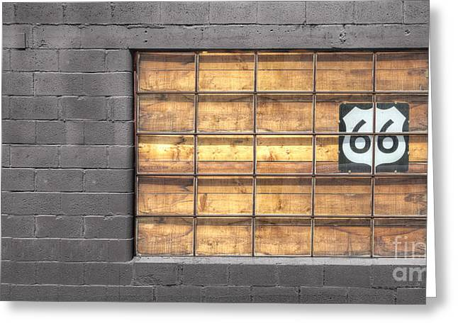 Route 66 Greeting Card by Twenty Two North Photography