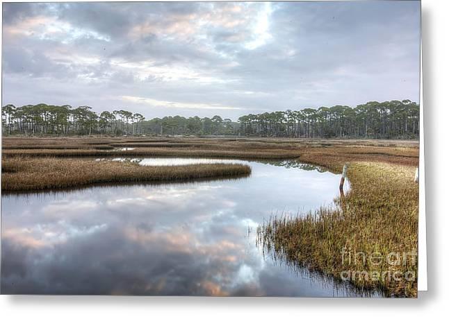 St. Joe Bay Greeting Card by Twenty Two North Photography