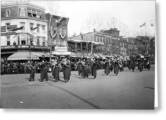 Suffrage Parade, 1913 Greeting Card by Granger
