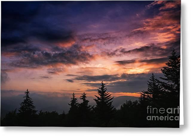 Summer Solstice Sunrise Greeting Card by Thomas R Fletcher