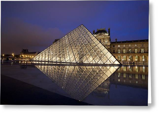 The Louvre Paris Greeting Card