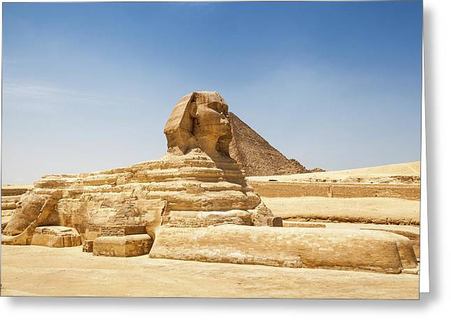Travel Images Of Egypt Greeting Card