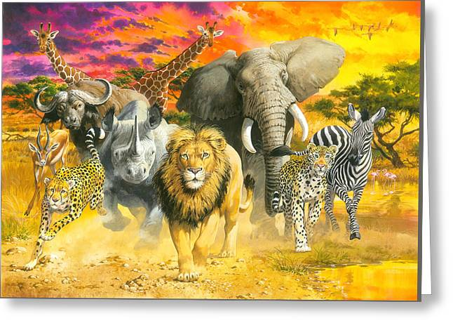 Africa's Finest Greeting Card by John Francis