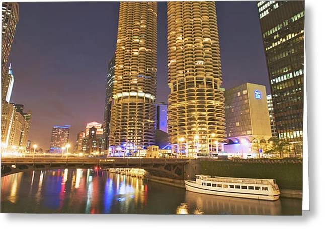 Usa, Illinois, Chicago Greeting Card by Jaynes Gallery