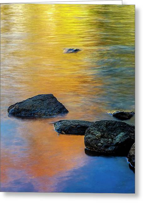 Usa, New York, Adirondack Mountains Greeting Card