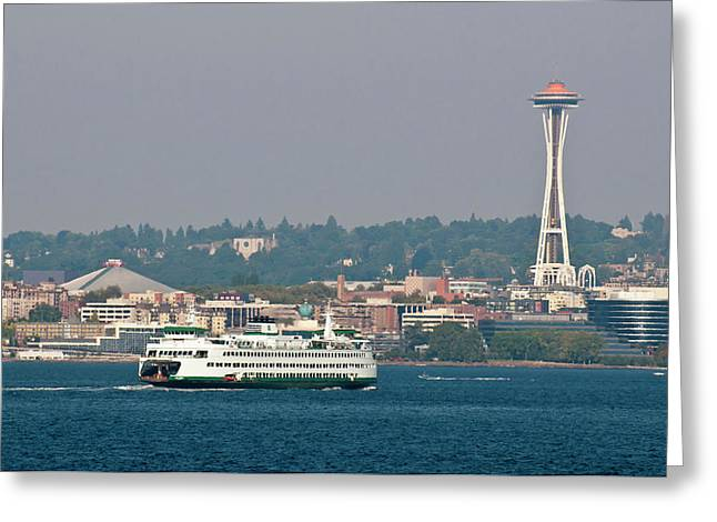 Usa, Wa, Seattle Greeting Card