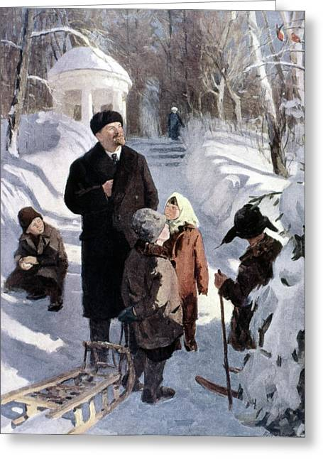 Vladimir Lenin (1870-1924) Greeting Card