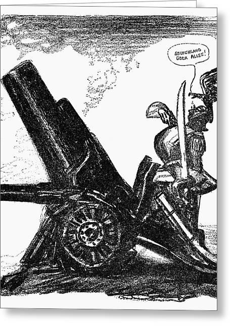 World War I Cartoon, 1915 Greeting Card by Granger