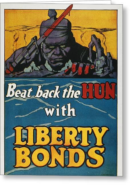 World War I Liberty Loan Greeting Card by Granger