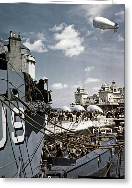 Wwii D-day, 1944 Greeting Card by Granger