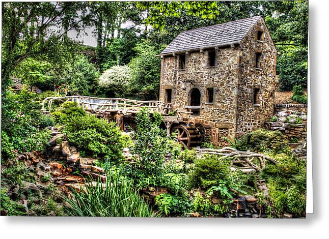 1007-2693 Pugh's Old Mill  Greeting Card by Randy Forrester
