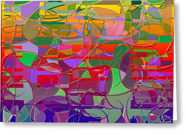 1021 Abstract Thought Greeting Card