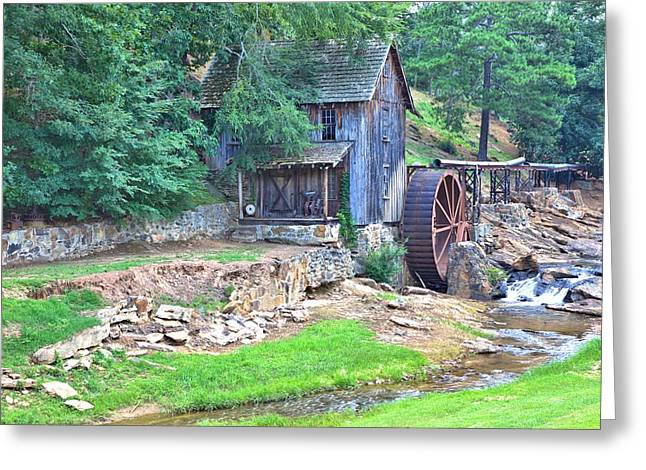 Sixes Mill On Dukes Creek Greeting Card by Gordon Elwell