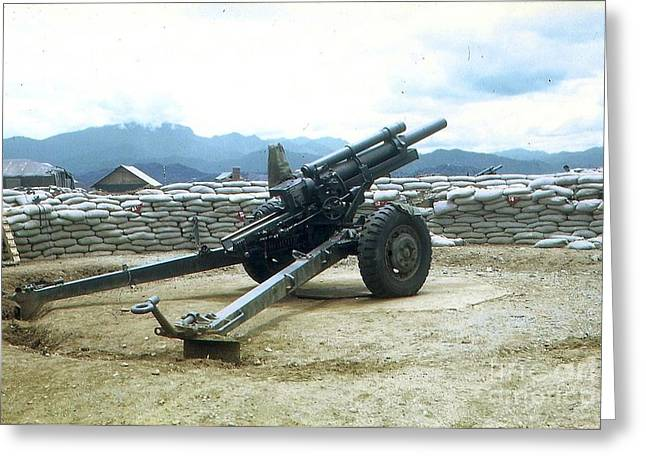 105mm Howitzer Greeting Card