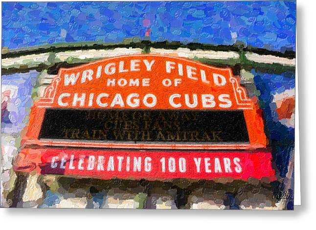 1060 W. Addison Greeting Card