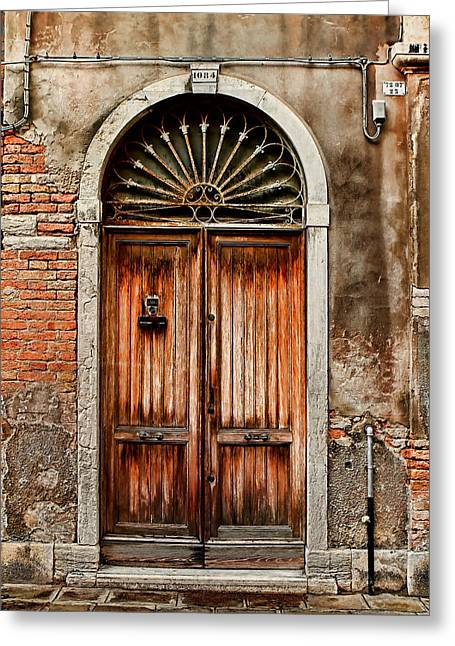 1084-venice Italy Greeting Card
