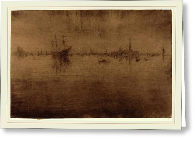James Mcneill Whistler American, 1834-1903 Greeting Card