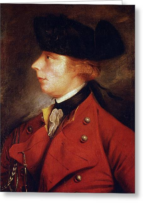 James Wolfe (1727-1759) Greeting Card by Granger
