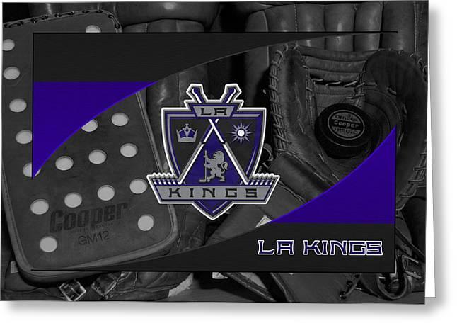 Los Angeles Kings Greeting Card