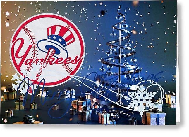 New York Yankees Greeting Card