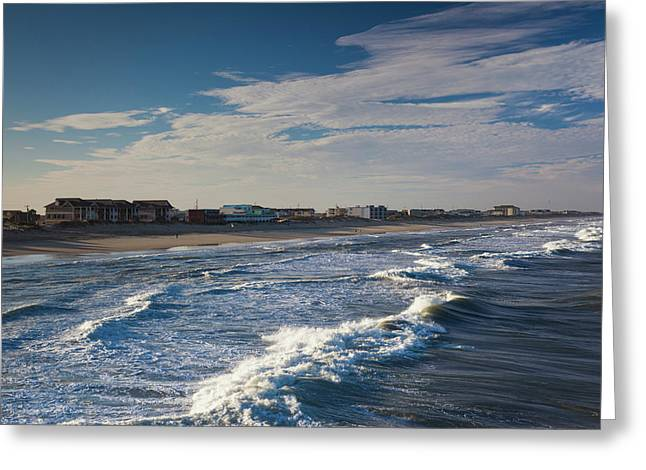 North Carolina, Outer Banks National Greeting Card by Walter Bibikow