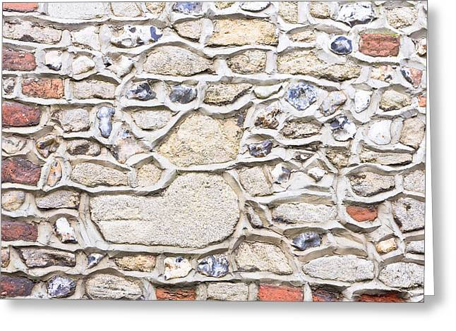 Stone Wall Greeting Card by Tom Gowanlock