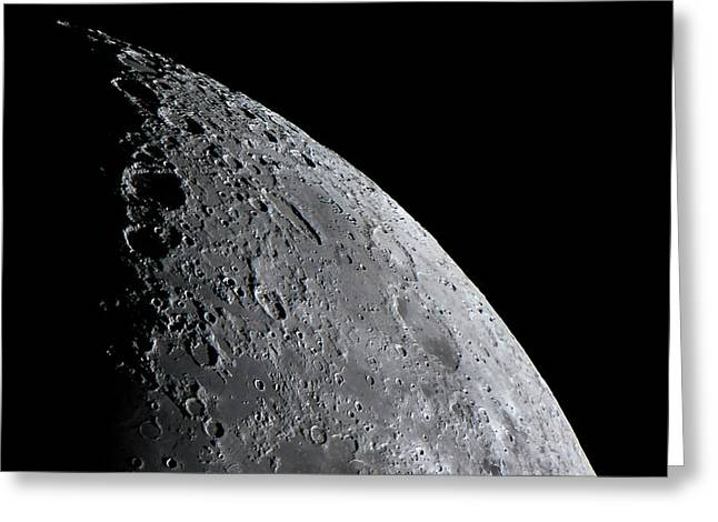 Surface Of The Moon Greeting Card