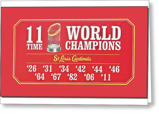 11 Time World Chapion Poster Dsc01106 Greeting Card