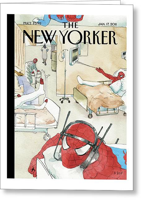 New Yorker January 17th, 2011 Greeting Card