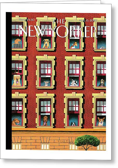 New Yorker August 13th, 2007 Greeting Card