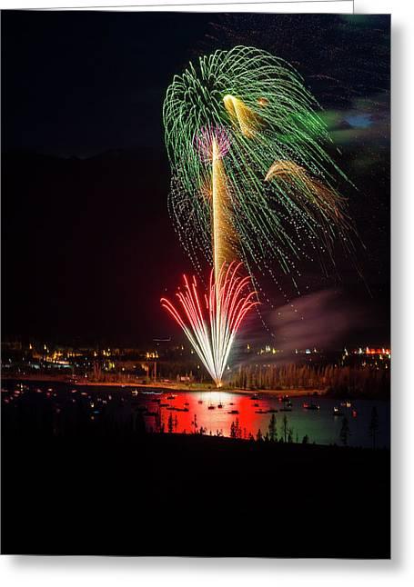 Usa, Colorado, Frisco, Dillon Reservoir Greeting Card by Jaynes Gallery