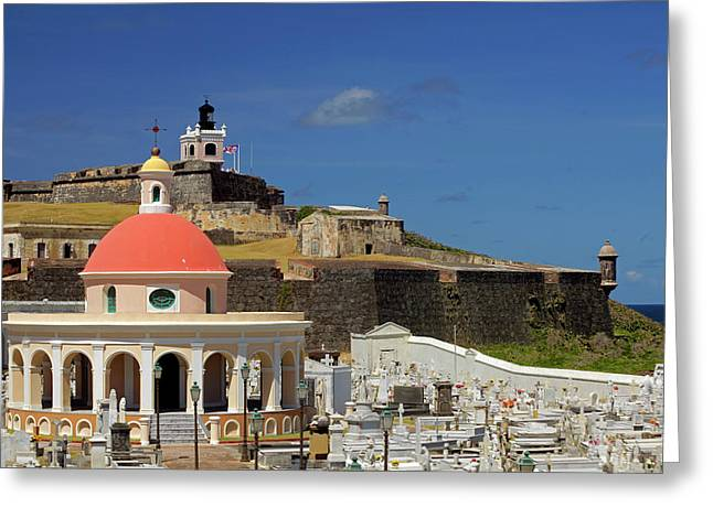 Usa, Puerto Rico, San Juan Greeting Card by Kymri Wilt