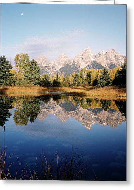 Usa, Wyoming, Grand Teton National Greeting Card