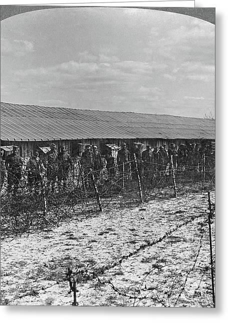 World War I Prisoners Greeting Card by Granger