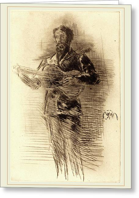 James Mcneill Whistler American, 1834-1903 Greeting Card by Litz Collection