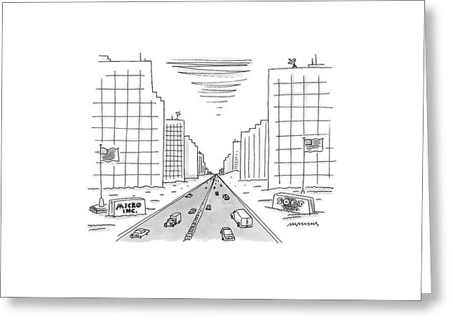 New Yorker May 15th, 2000 Greeting Card by Mick Stevens