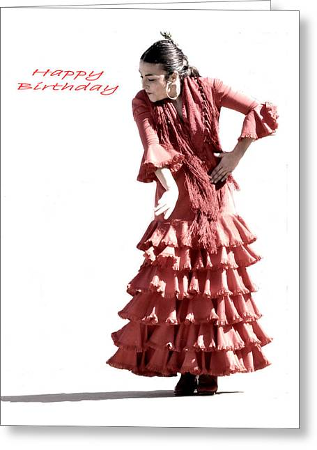 113 Chiki Torres Birthday Card Greeting Card by Patrick King